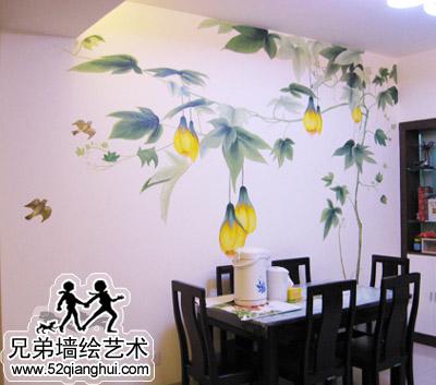 江苏南京威尼斯水城餐厅墙绘