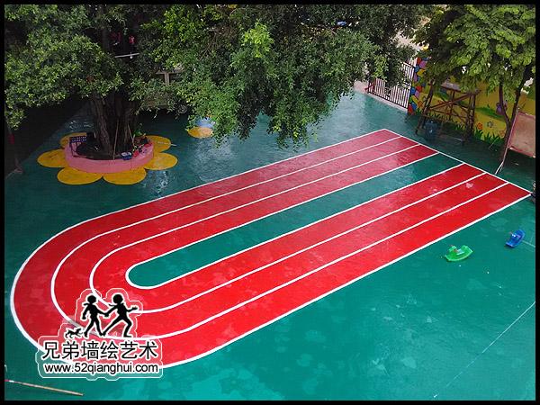 广西隆林幼儿园地坪彩绘