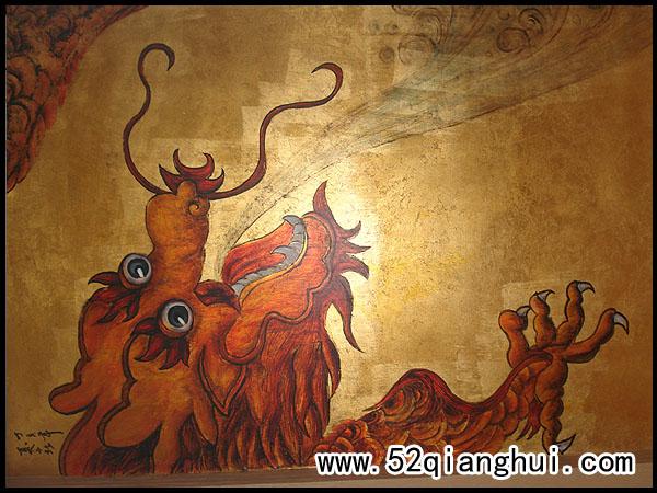 南京金箔画,立体金箔画