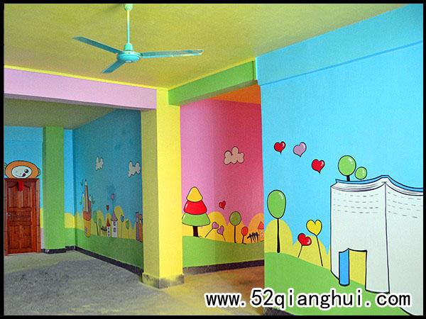 南京浦口幼儿园室内彩绘