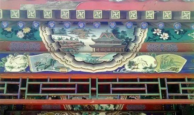 苏式古建彩绘图案2