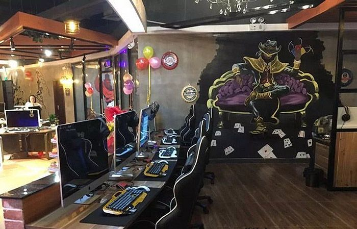 南京网吧墙绘专注于南京网吧彩绘,网咖墙绘等