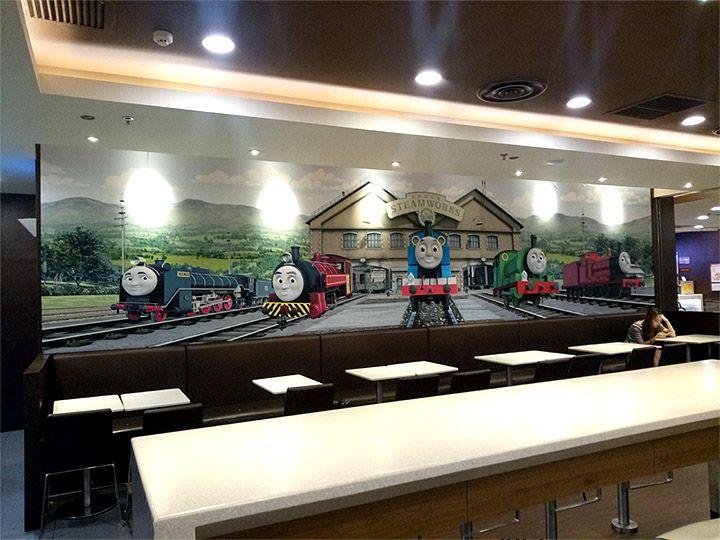 欢乐餐厅儿童乐园南京餐厅墙绘