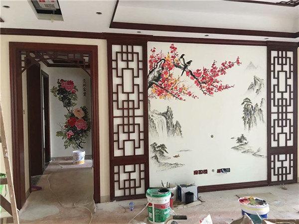 南京墙绘对绘画用的颜料要求严格