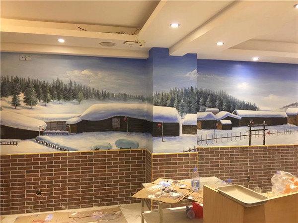 江苏墙绘公司哪家做的设计比较好?