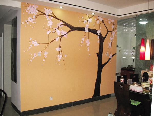 餐厅墙绘图片素材,手绘墙图片素材,墙绘图片素材,墙体