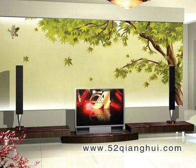 手绘电视背景墙图片,手绘墙图片素材,墙绘图片素材,墙体彩绘图