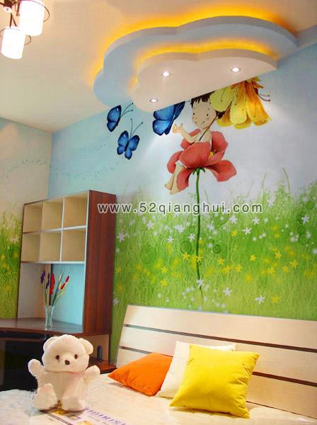 儿童房墙绘,儿童房墙绘图片素材