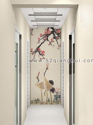 楼梯墙绘图片,走廊手绘素材,手绘墙图片素材,墙绘图片