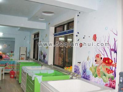 商业空间墙绘图片素材(办公