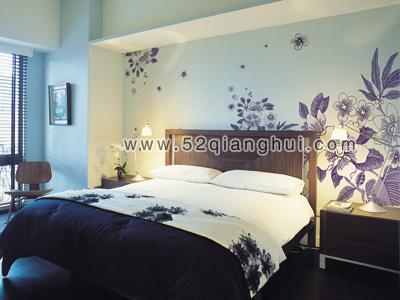 手绘卧室背景墙图片素材,卧室手绘墙图片,手绘墙图片素材,墙绘图片
