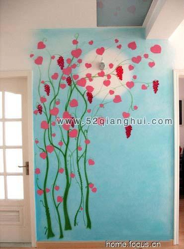 玄关墙绘图片,手绘墙图片素材,墙绘图片素材,墙体彩绘图片素材,兄弟