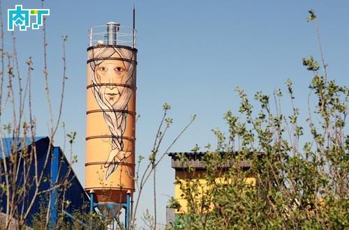 欧美街头艺术 废弃建筑创意集合