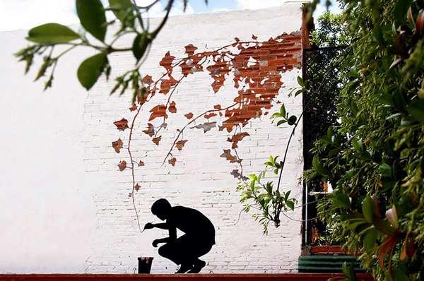 欧洲都市创意街头涂鸦艺术集合